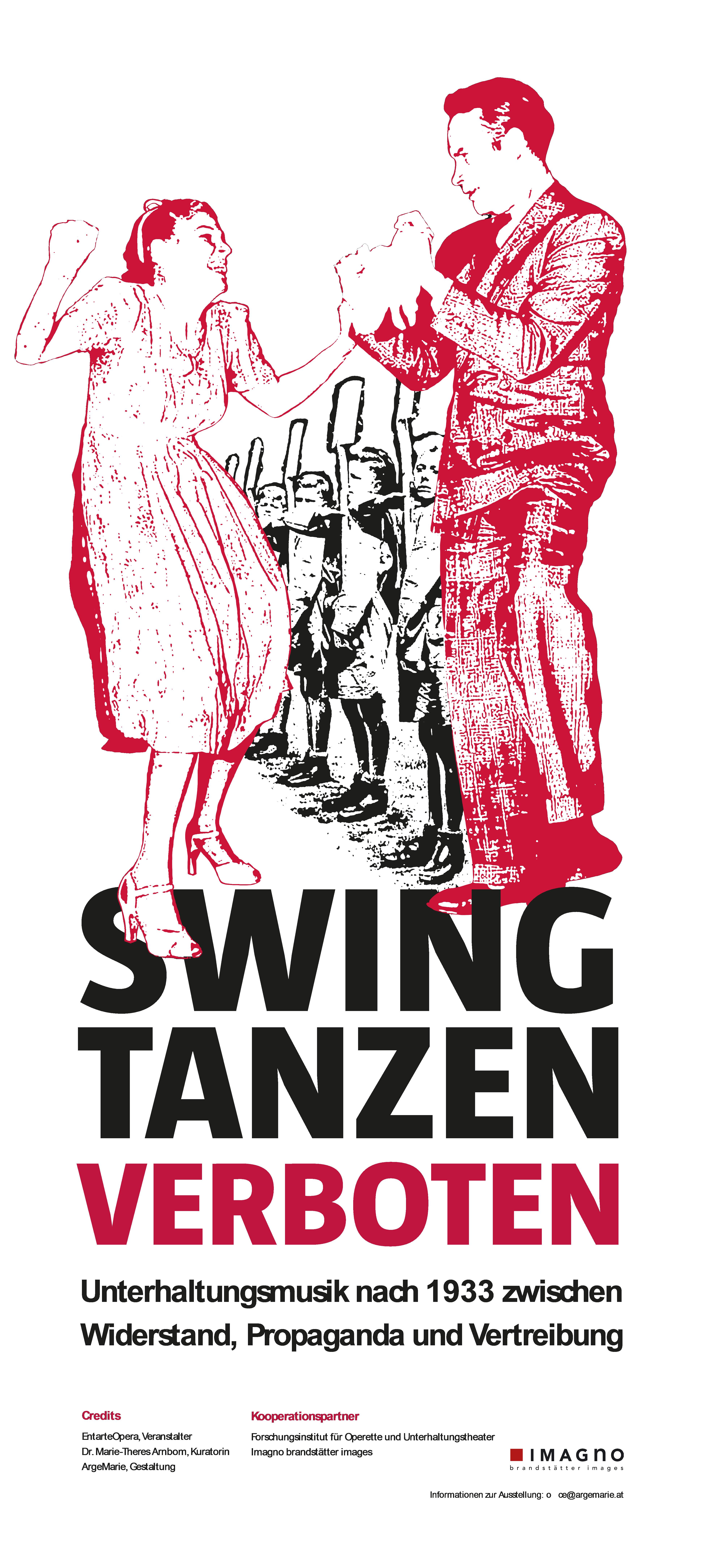 swing tanzen verboten Plakatsujet