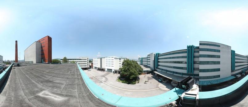 Christoph Einfalt - Panorama TFL - Kraftwerk Dach