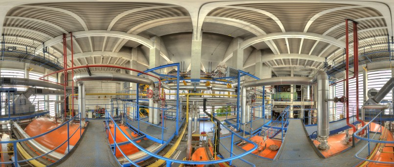 Christoph Einfalt - Panorama TFL - Kraftwerk_Kessel