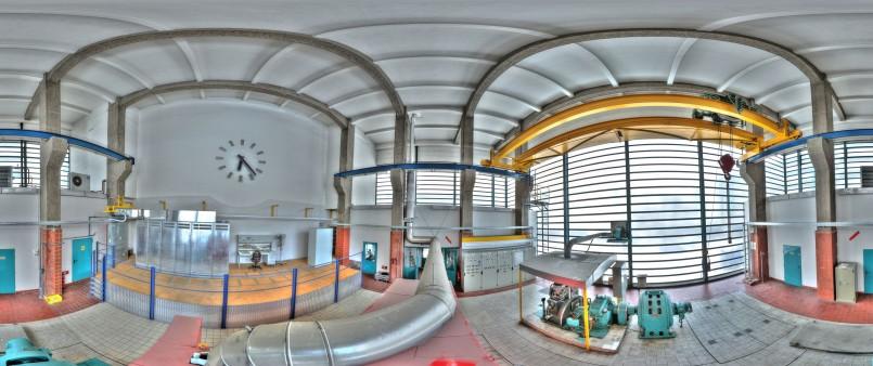 Christoph Einfalt - Panorama TFL - Kraftwerk_Uhr