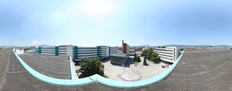 Christoph Einfalt - Panorama TFL - Magazin Dach