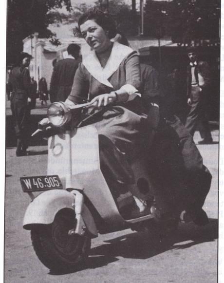 Der Lohner-Roller aus dem Jahr 1949 | Foto: Lohnerwerke