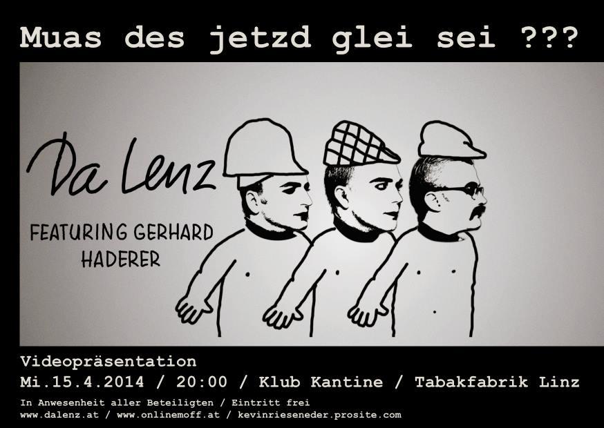 Da Lenz featuring Gerhard Haderer_15.04.2015