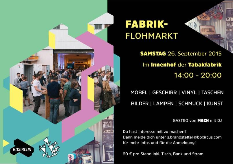 Boxircus Flohmarkt 2015