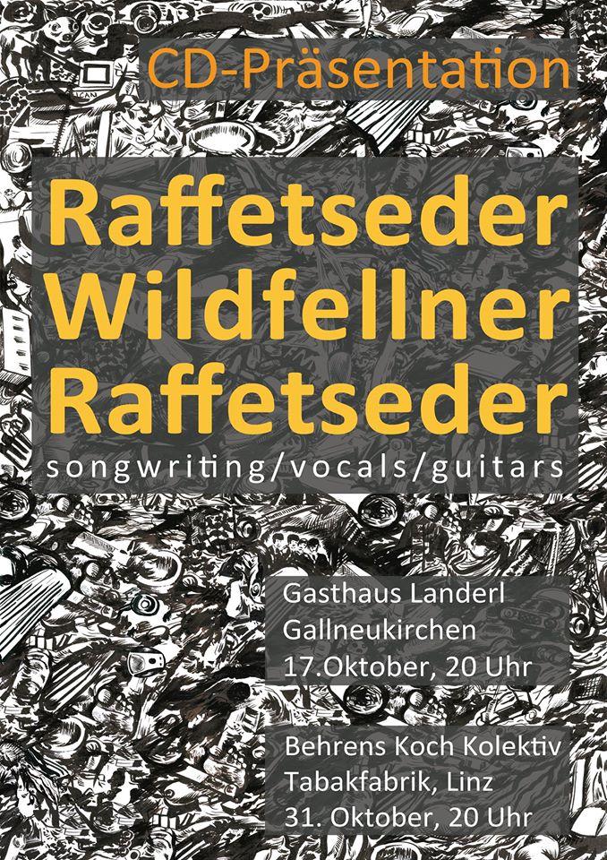 CD Präsentation Raffetseder Wildfellner Raffetseder 31.10.2015