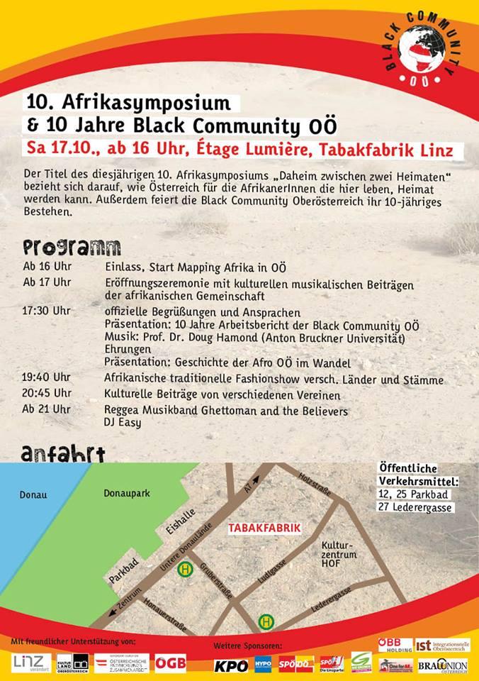 10. Afrikasymposium Programm 20151017