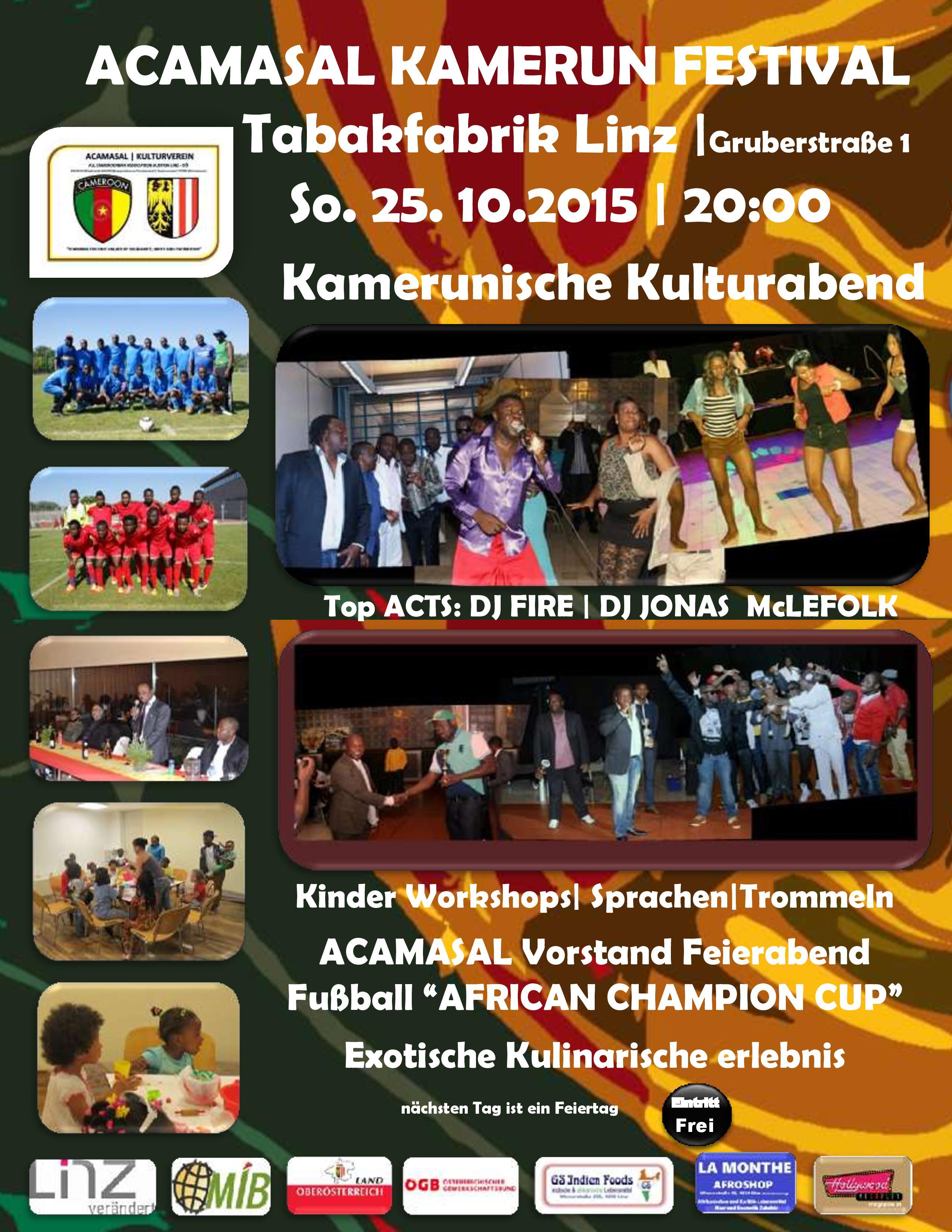 Acamasal Kamerun Festival 20151025