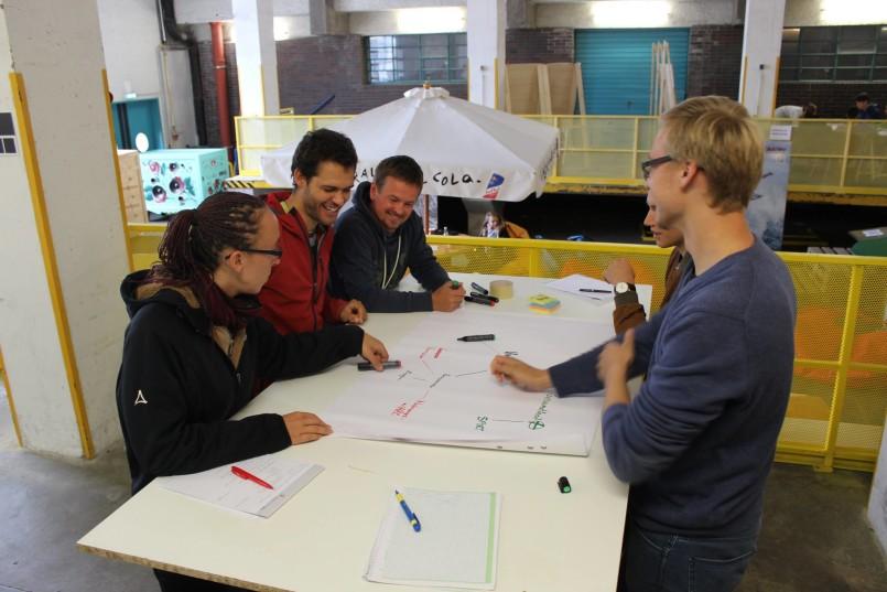 Wissenstransferzentrum Ideengarten 2015 03
